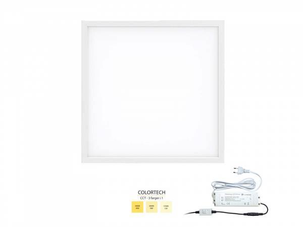 42W 60x60 LED panel Colortech CCT 3:1