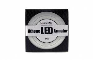 Bilde av Athene LED Armatur IP23