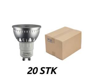 Bilde av Pakke 20 STK - GU10 5W 2700K